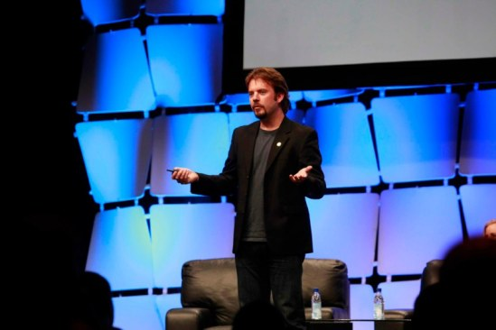 "Speaking at the 7x24 Exchange ""Leadership"" conference in Orlando, Fla., on June 11, 2012."
