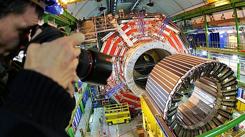 The construction of the LHC is nearing completion, exciting or worrying? (AP)