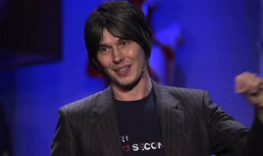 Brian Cox giving an inspiring talk (TED)