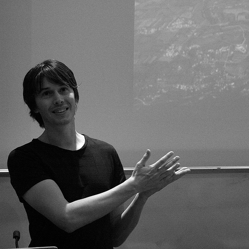 Professor Brian Cox. Awesome. (Dave Pearson - http://tinyurl.com/62g84q)
