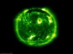 195A SOHO/EIT image of the Sun (NASA/ESA)