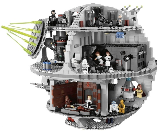 A Death Star made from Lego. Still too expensive. (Gizmodo)