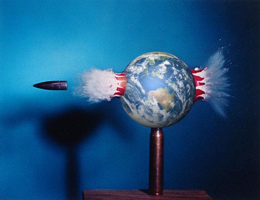 Image credits: Harold Edgerton (1964), NASA. Edit: Ian O'Neill