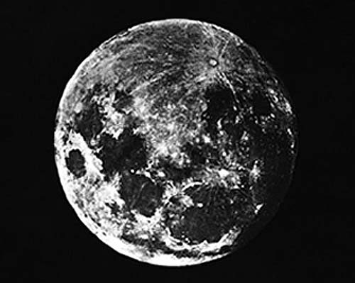 The first photograph of the Moon (John W. Draper)