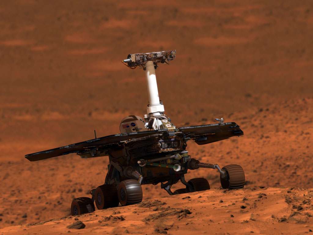 mars rover spirit - photo #8