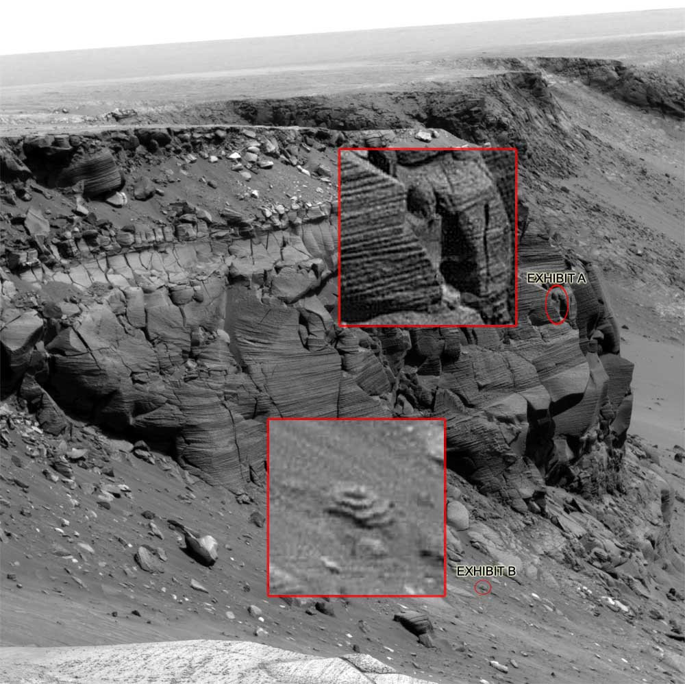 I see mars faces… everywhere astroengine