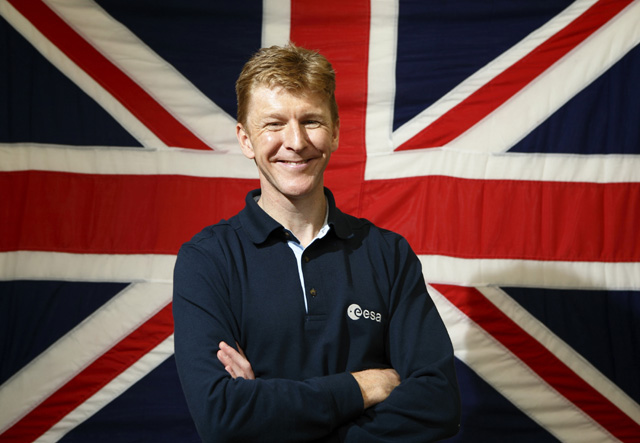 Lucky sod: Major Tim Peake, training British astronaut (BNSC)