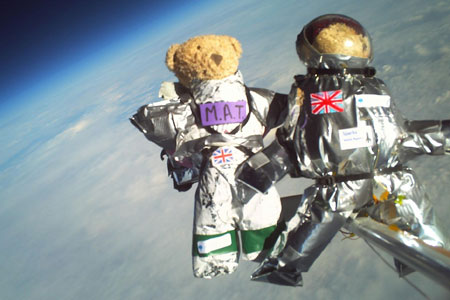 Our last astronauts were these guys (from a Cambridge University project).