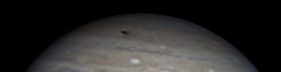 A later image of the Jupiter impact (Anthony Wesley)