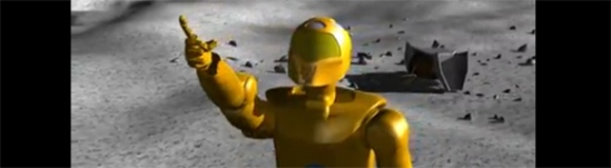 Doing for NASA what Star Wars did for sci-fi, send C3PO to the Moon! Huh?