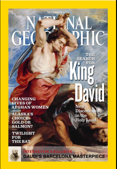 The December 2010 edition of National Geographic