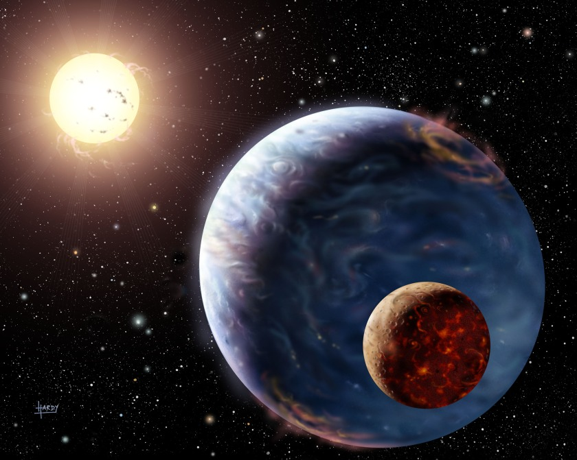 Exoplanets may reveal their location through radio emissions (NASA)