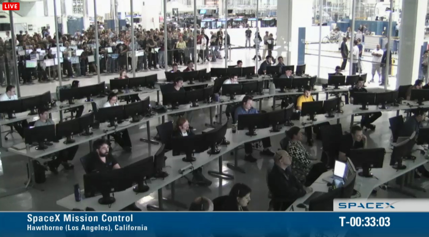 spacex-mission-control | Astroengine.com