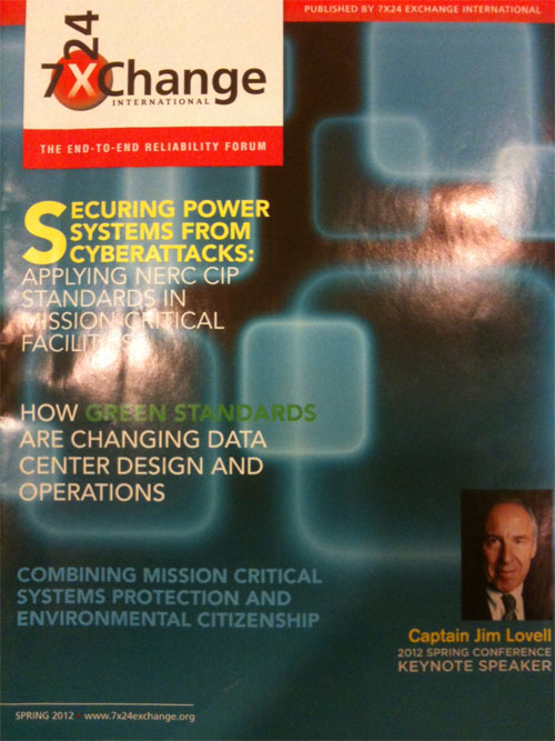 """7x24 Exchange magazine, Spring 2012, pp 40-46, """"Science and Pseudoscience Behind the End of the World"""" (Article)"""