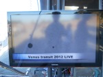 The live streaming broadcast of the Venus transit atop Mt. Wilson, Calif.