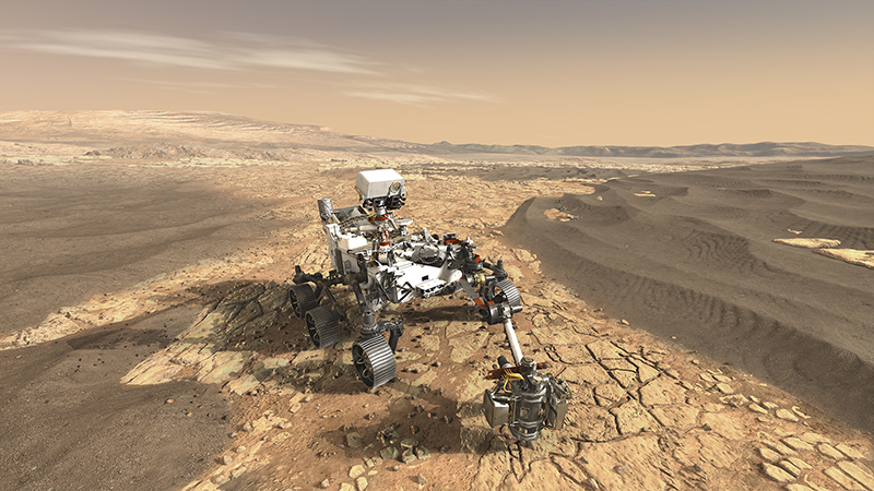 This Is NASA's Future Mars 2020 Rover Looking for Biosignatures on the Red Planet