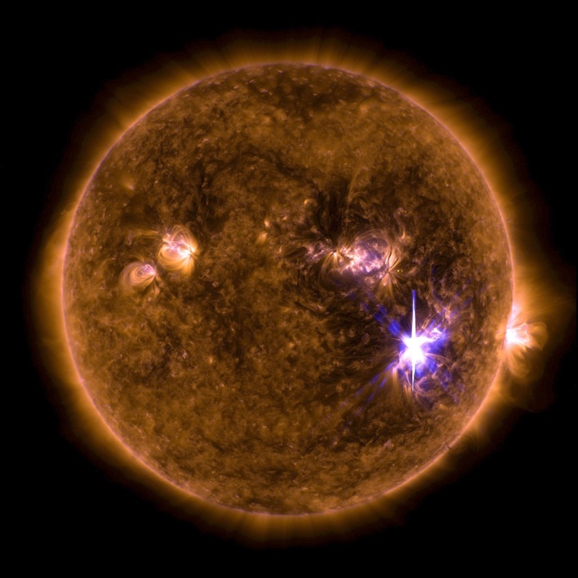 sun erupts with a monster x9 class solar flare earth feels its