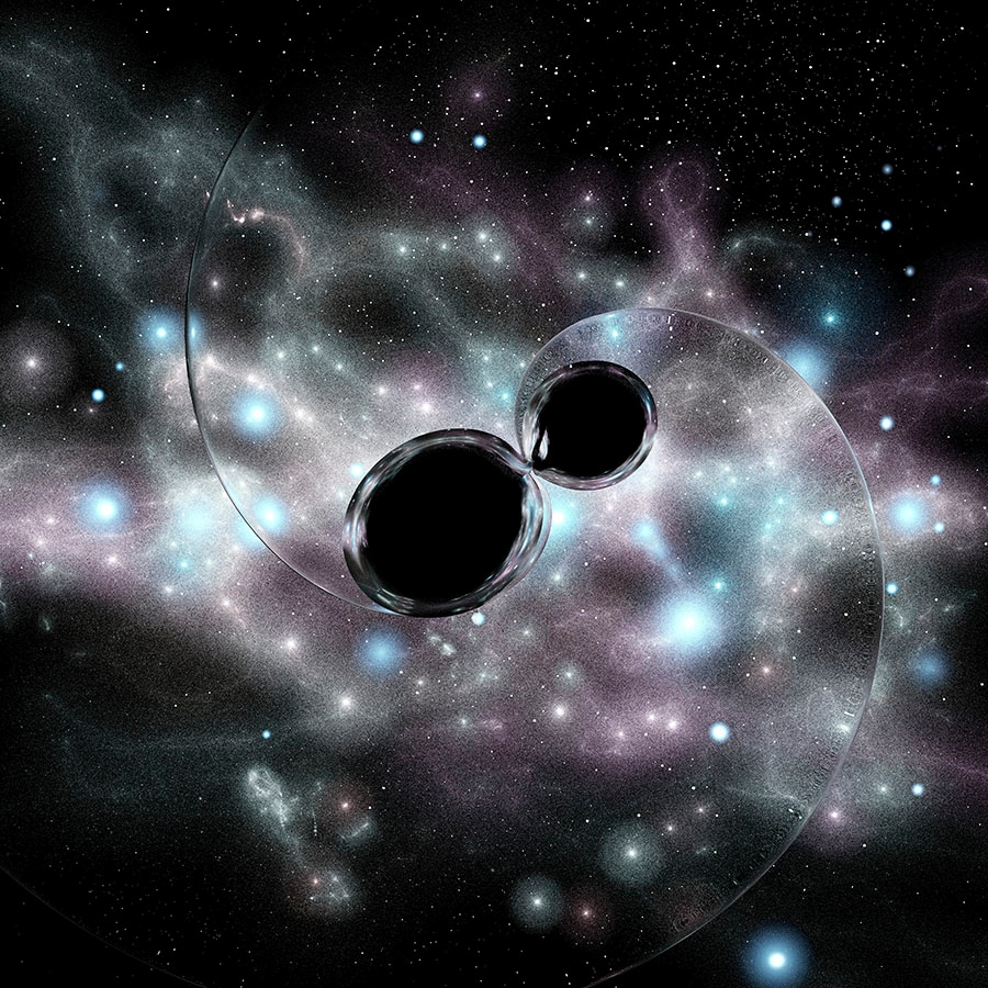 Can suggest big black hole phrase, simply